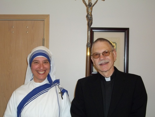 with Sister Benedict, M.C.