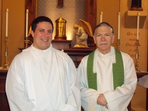 After Mass in Mt. Pleasant, MI